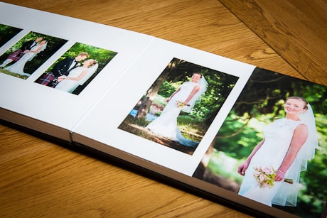 Matted Wedding Album