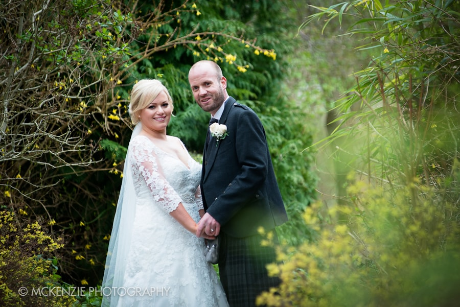 Ednam House Wedding Photo 11