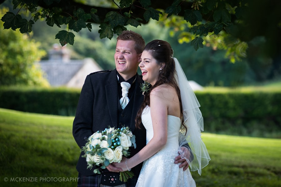 Jamie and Emma Borders Wedding at Dunglass Estate Photograph 11