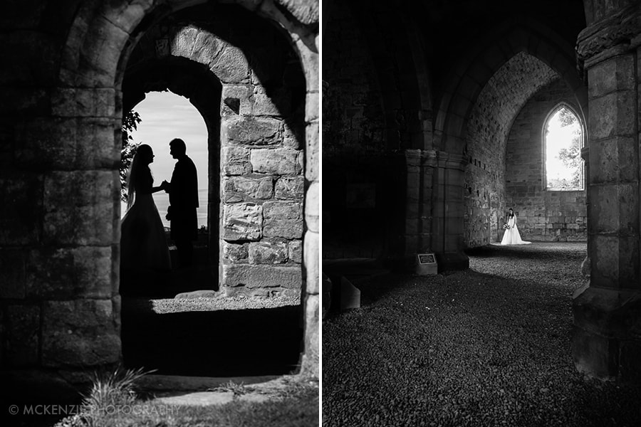 Jamie and Emma Borders Wedding at Dunglass Estate Photograph 13