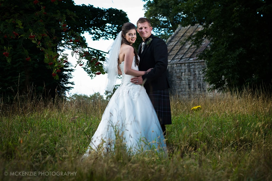 Jamie and Emma Borders Wedding at Dunglass Estate Photograph 15