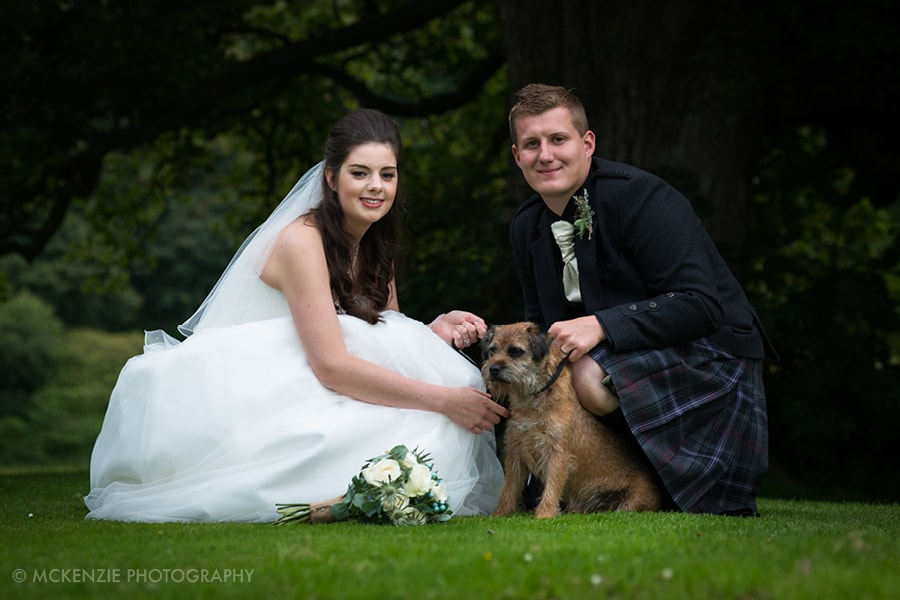 Jamie and Emma Borders Wedding at Dunglass Estate Photograph 17