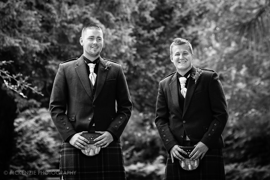 Jamie and Emma Borders Wedding at Dunglass Estate Photograph 3