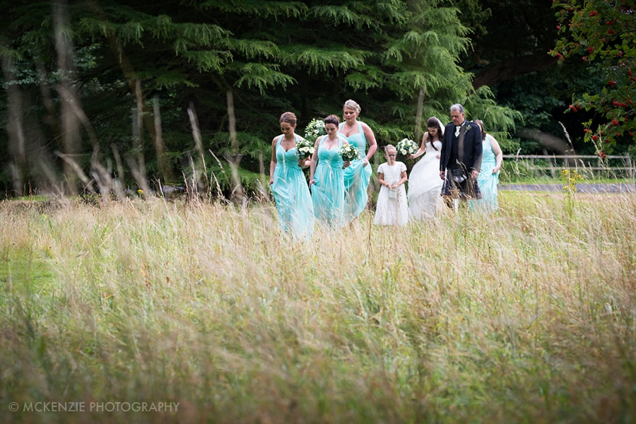 Jamie and Emma Borders Wedding at Dunglass Estate Photograph 4