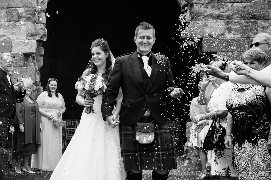 Jamie and Emma Borders Wedding at Dunglass Estate Photograph 7