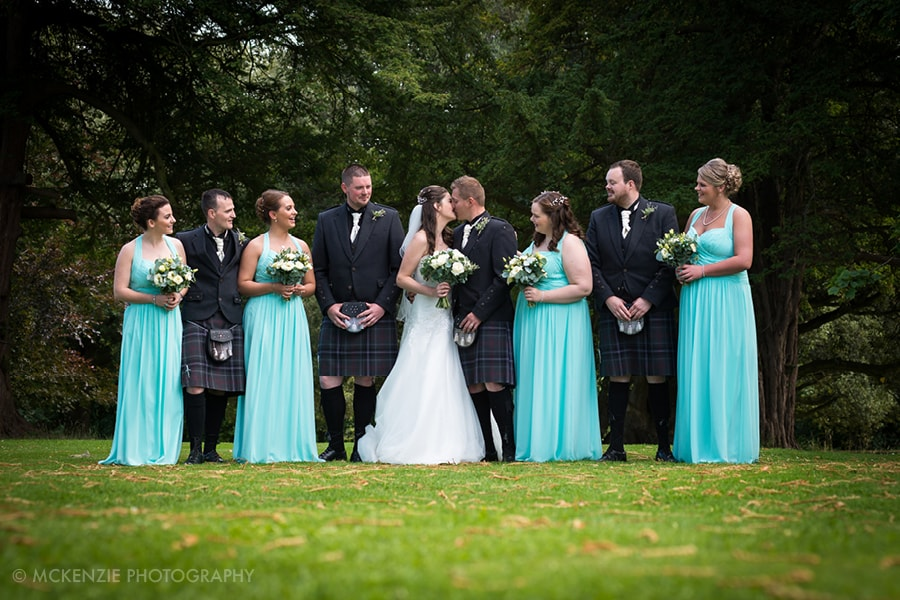 Jamie and Emma Borders Wedding at Dunglass Estate Photograph 9